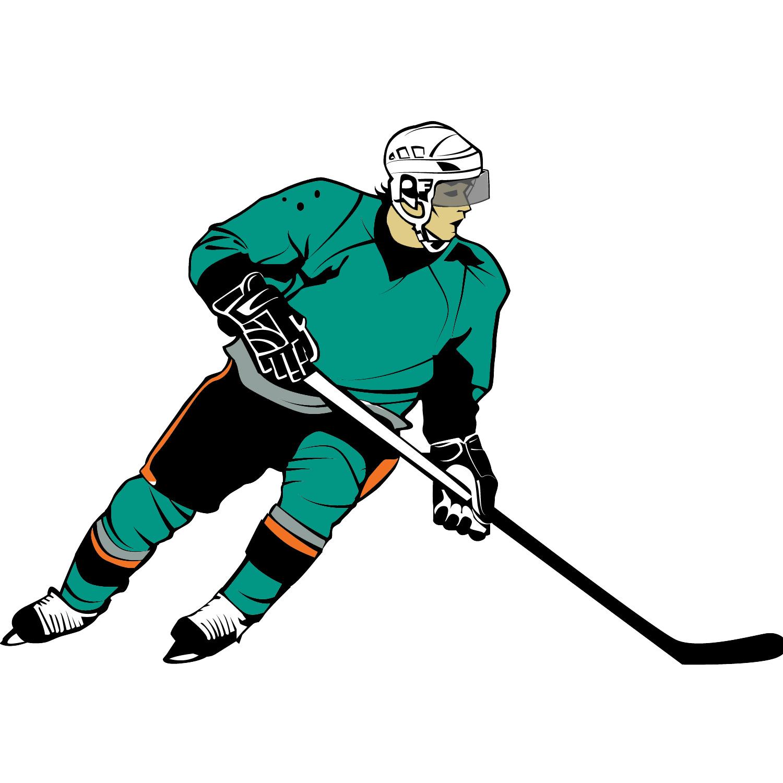 1500x1500 Hockey Player Clip Art