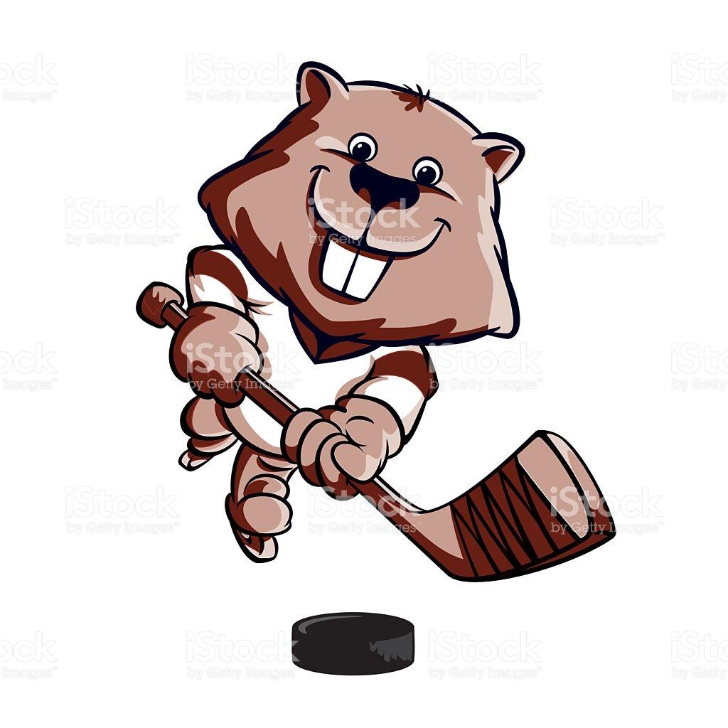 1024x1024 Beaver Clipart Hockey