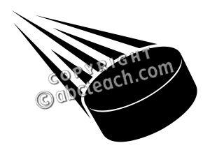 300x225 Hockey Puck Clipart