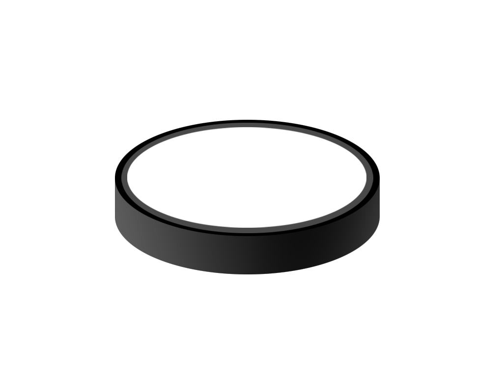 1024x768 Hockey Puck By Fernandesvincent