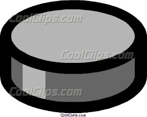 300x238 Hockey Puck Vector Clip Art