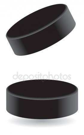 281x450 Hockey Puck Isolated Stock Vectors, Royalty Free Hockey Puck