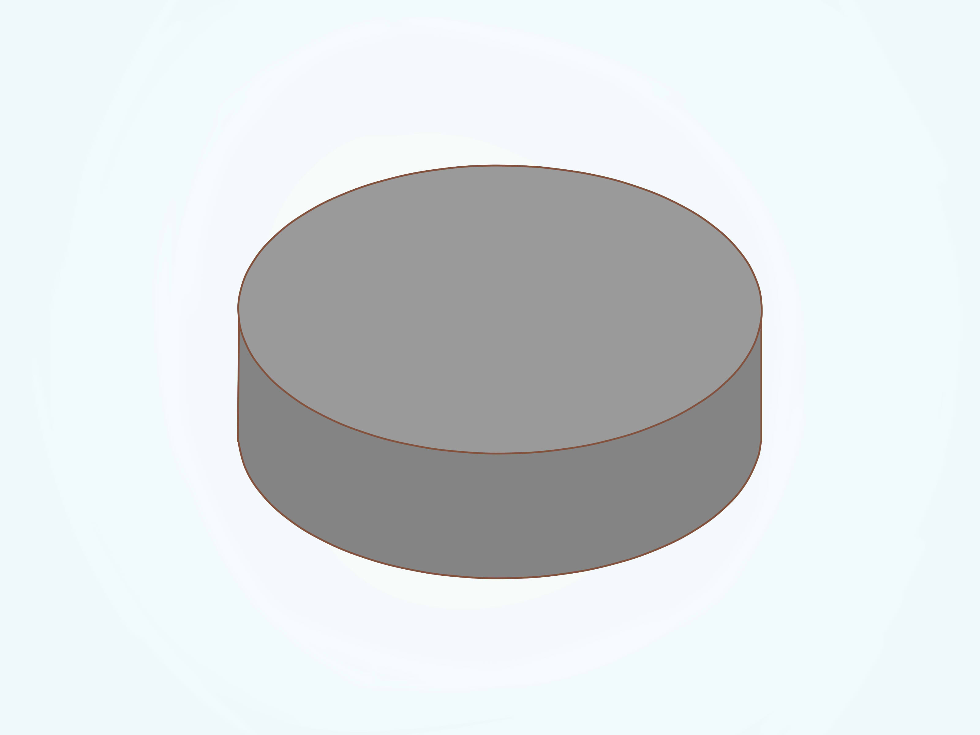 3200x2400 How To Draw A Hockey Puck 3 Steps (With Pictures)
