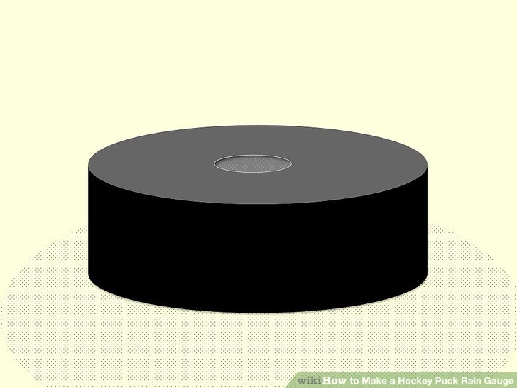 728x546 How To Make A Hockey Puck Rain Gauge 12 Steps (With Pictures)