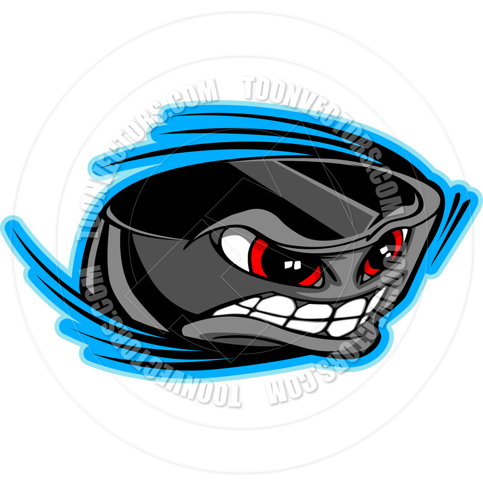 940x940 Ice Hockey Puck Face Cartoon Vector Image By Chromaco Toon