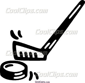 300x293 Hockey Stick And Puck Vector Clip Art