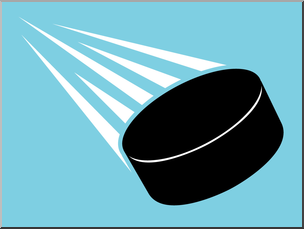 304x229 Clip Art Ice Hockey Puck Color 3 I Abcteach