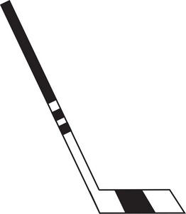 262x300 Hockey Stick Clipart Image