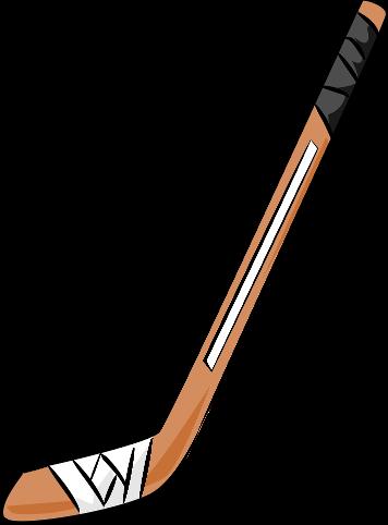 356x482 Hockey Sticks Clipart