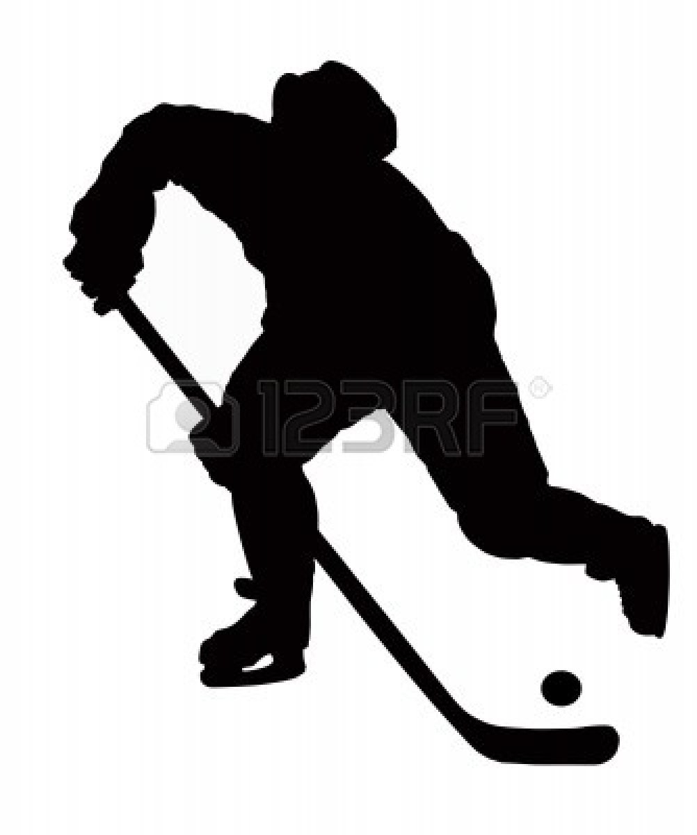 1002x1200 Puck And Hockey Stick Clipart