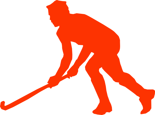 600x448 Red Hockey Stick Clipart