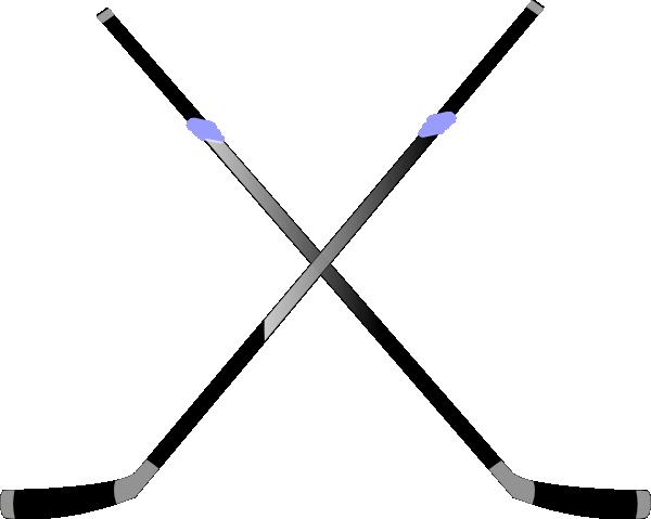 600x479 Double Hockey Stick Clip Art