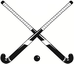 300x263 Field Hockey Stick Clipart Free