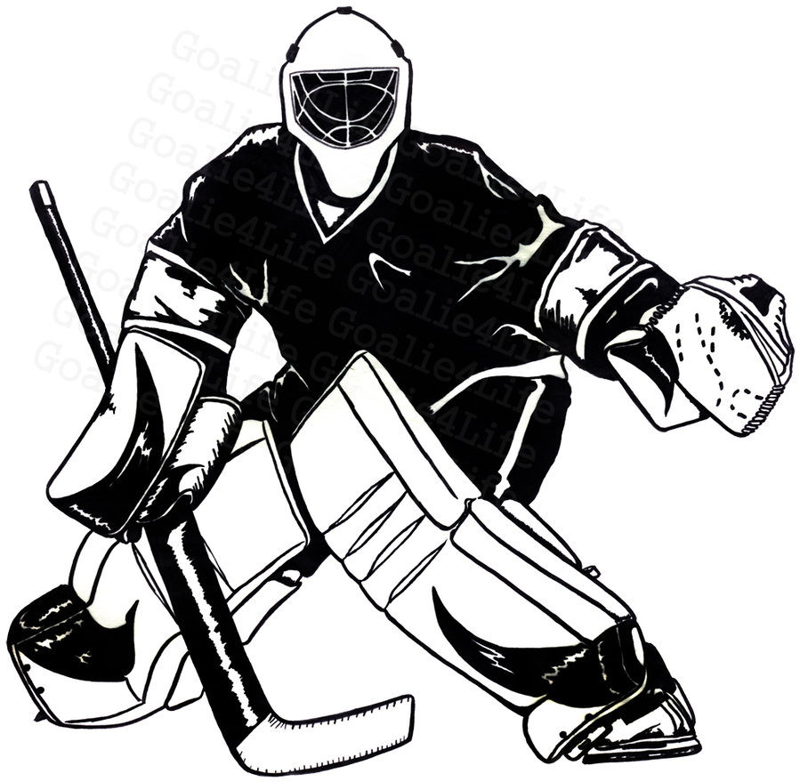 908x879 Hockey Player Clipart Free