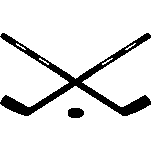 300x300 Hockey Stick Clip Art