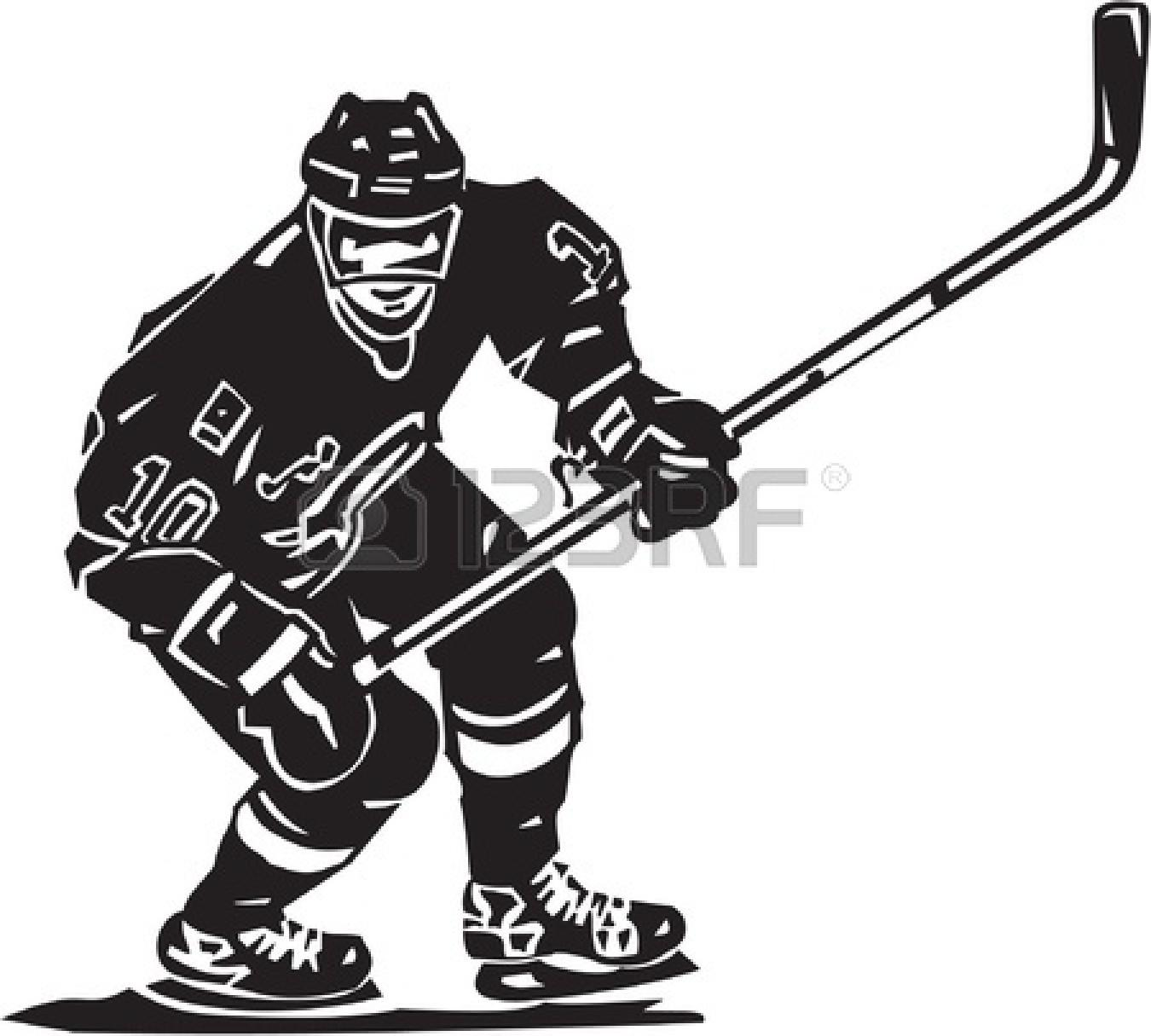 1350x1215 Hockey Stick Outline Clipart