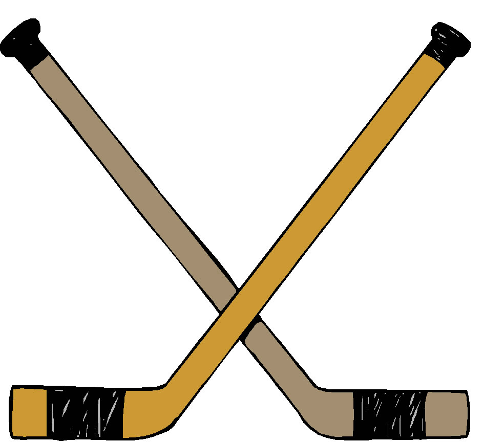 943x864 Bat Clipart Hockey