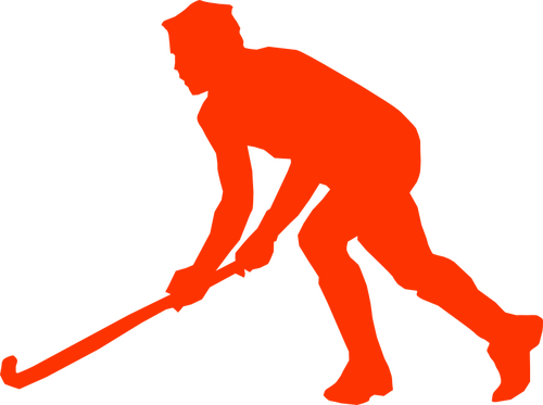 500x373 Goalie Hockey Stick Vector Image Public Domain Vectors