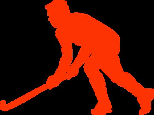 500x373 Goalie Hockey Stick Vector Image Public Domain Vectors