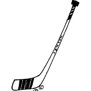 300x300 Hockey Sticks Clip Art Clipart