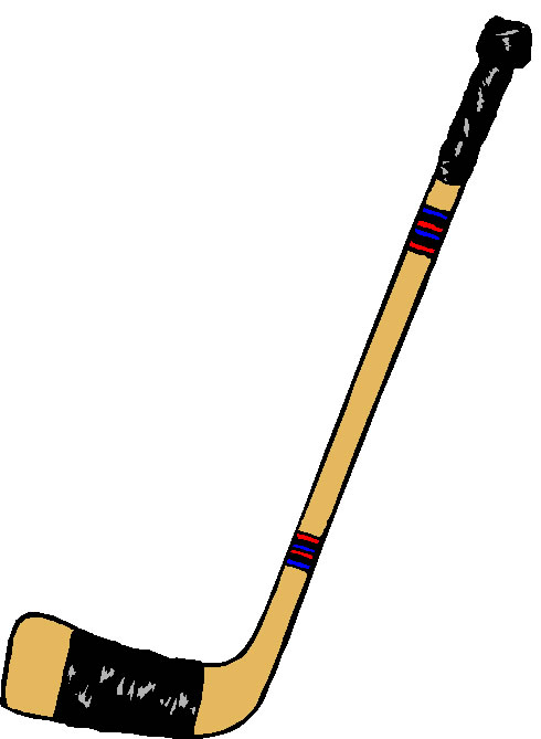 490x669 Ice Hockey Stick Clipart Kid