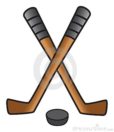 389x450 Hockey Sticks Clipart