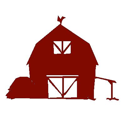 red barn clip art transparent. 409x375 Barn Clipart Transparent Red Clip Art