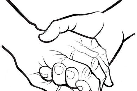450x300 Hand Holding Clip Art Transparent