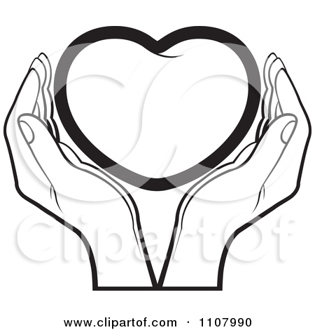 450x470 Holding Hands Black And White Clipart