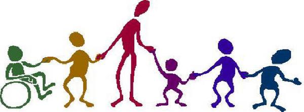 600x221 Kids Holding Hands Clipart