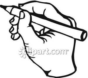 300x267 Pencil In Hand Clipart