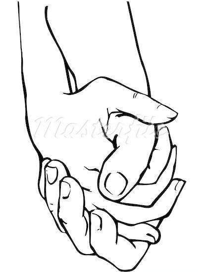 412x550 Unique Clipart Holding Hand