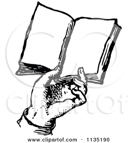 450x470 Book Clipart Hand Holding