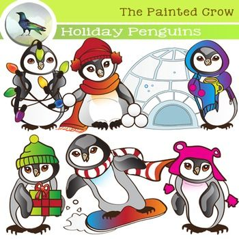 Holiday Animal Clipart