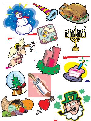 300x400 Clipart Holidays