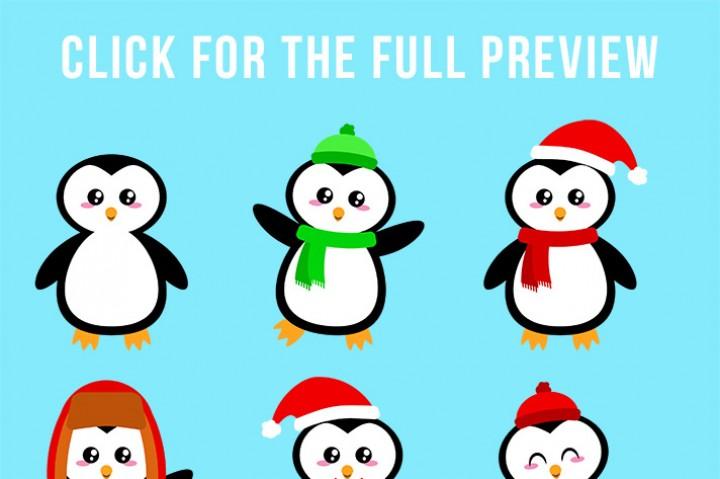 720x479 126 Christmas Clipart Mega Bundle, Winter Clipart, Holiday Clipart