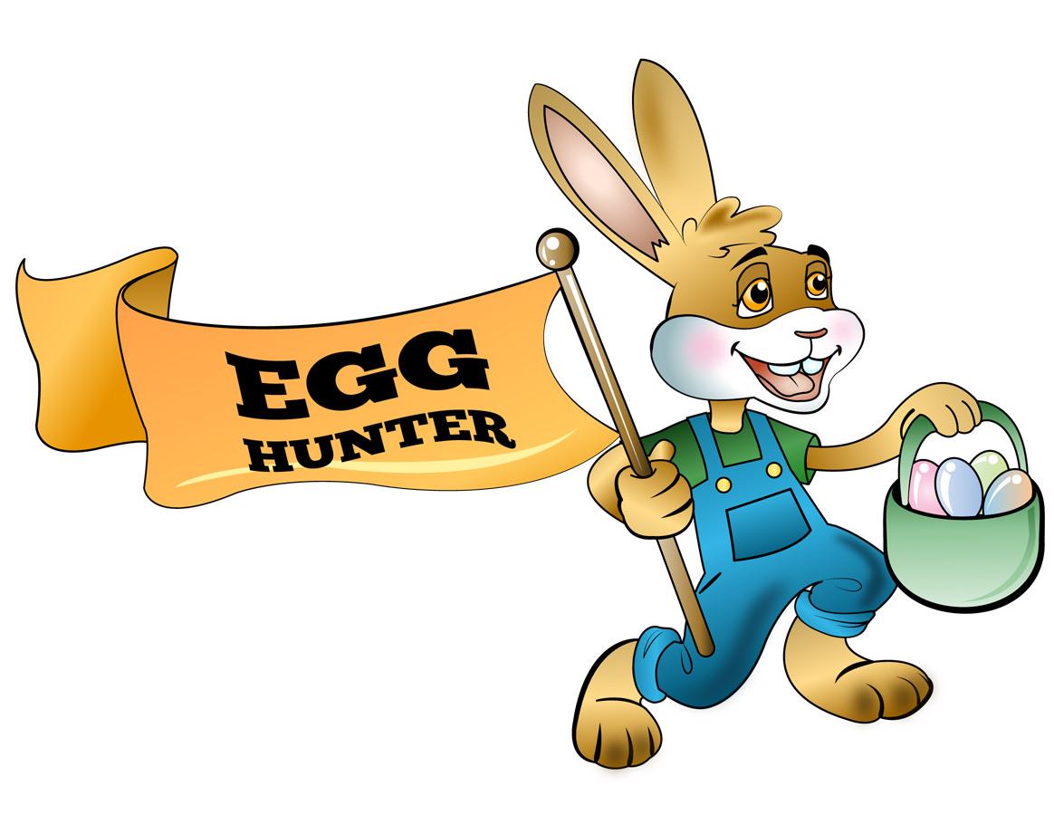1164x921 Free Clip Art Holiday Clip Art Easter Rabbit Egg Hunter Full
