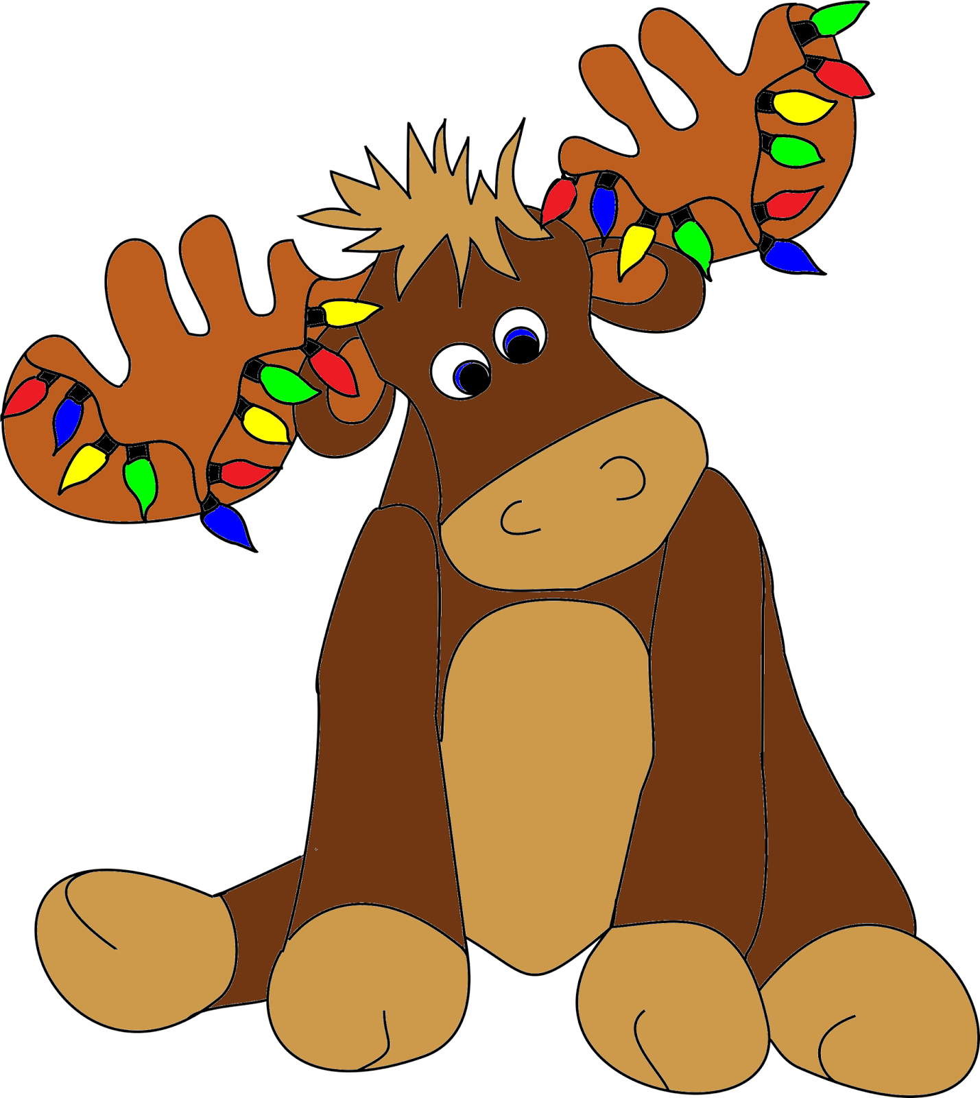 1429x1600 Holiday Clipart Moose