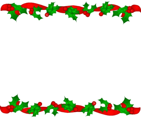 467x400 Free Holiday Border Clipart