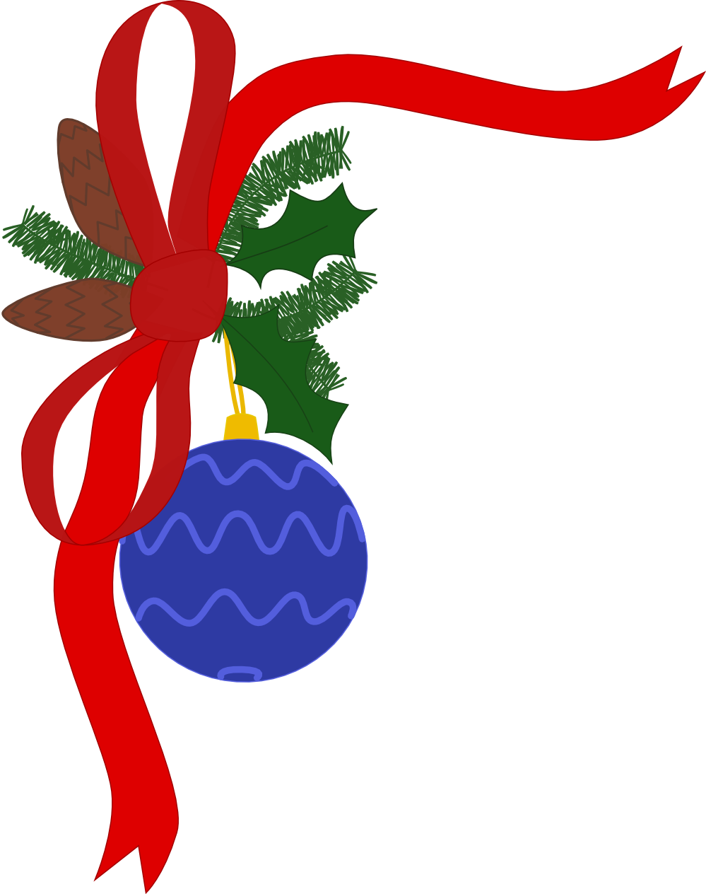 999x1264 Printable Holiday Clipart