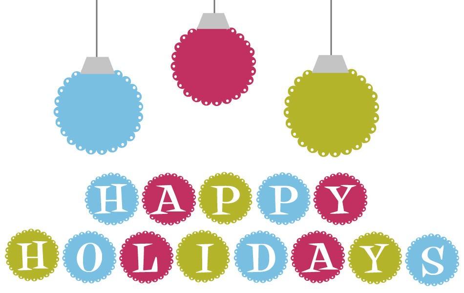 950x600 Happy holidays clip art
