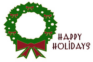 300x200 Happy Holidays Holiday Clip Art Free Transparent Free Clipart
