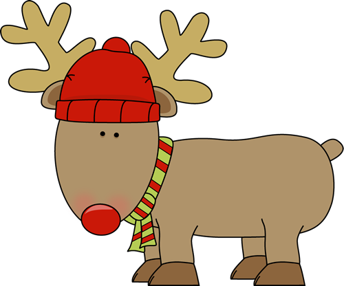 500x416 Holiday Reindeer Christmas Gifts Holidays, Clip
