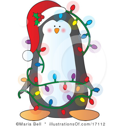 400x420 Holiday clipart holiday penguin