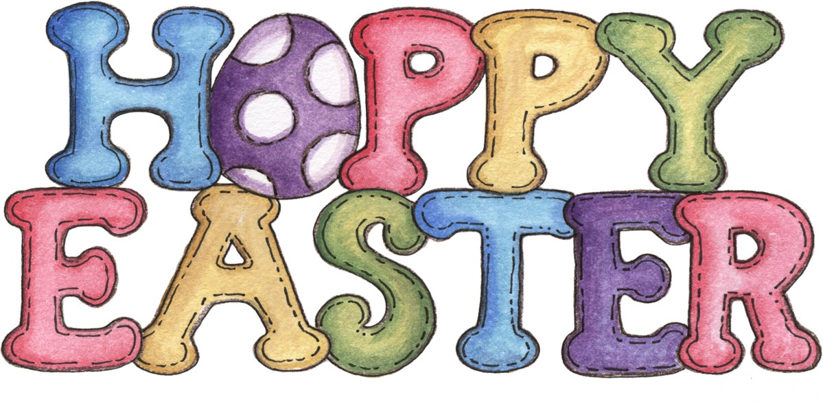 1199x595 Clipart Easter Free Happy