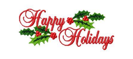 446x200 Free Happy Holidays Clip Art