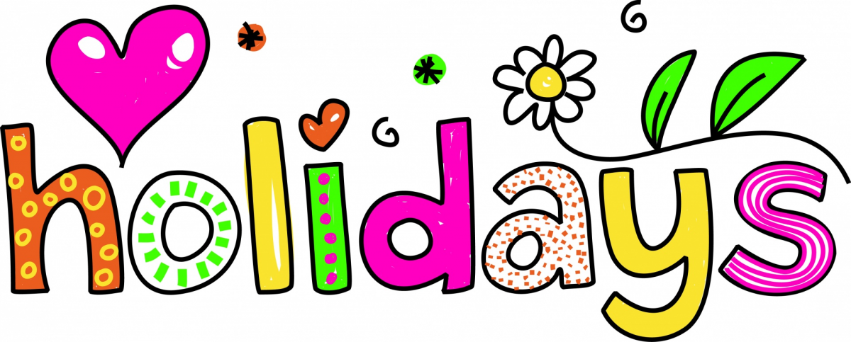 1200x483 School Holiday Clipart