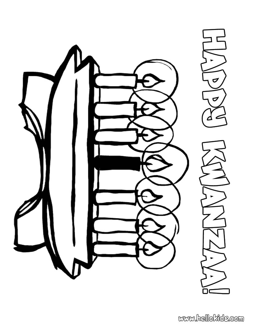820x1060 Kwanzaa Coloring Pages