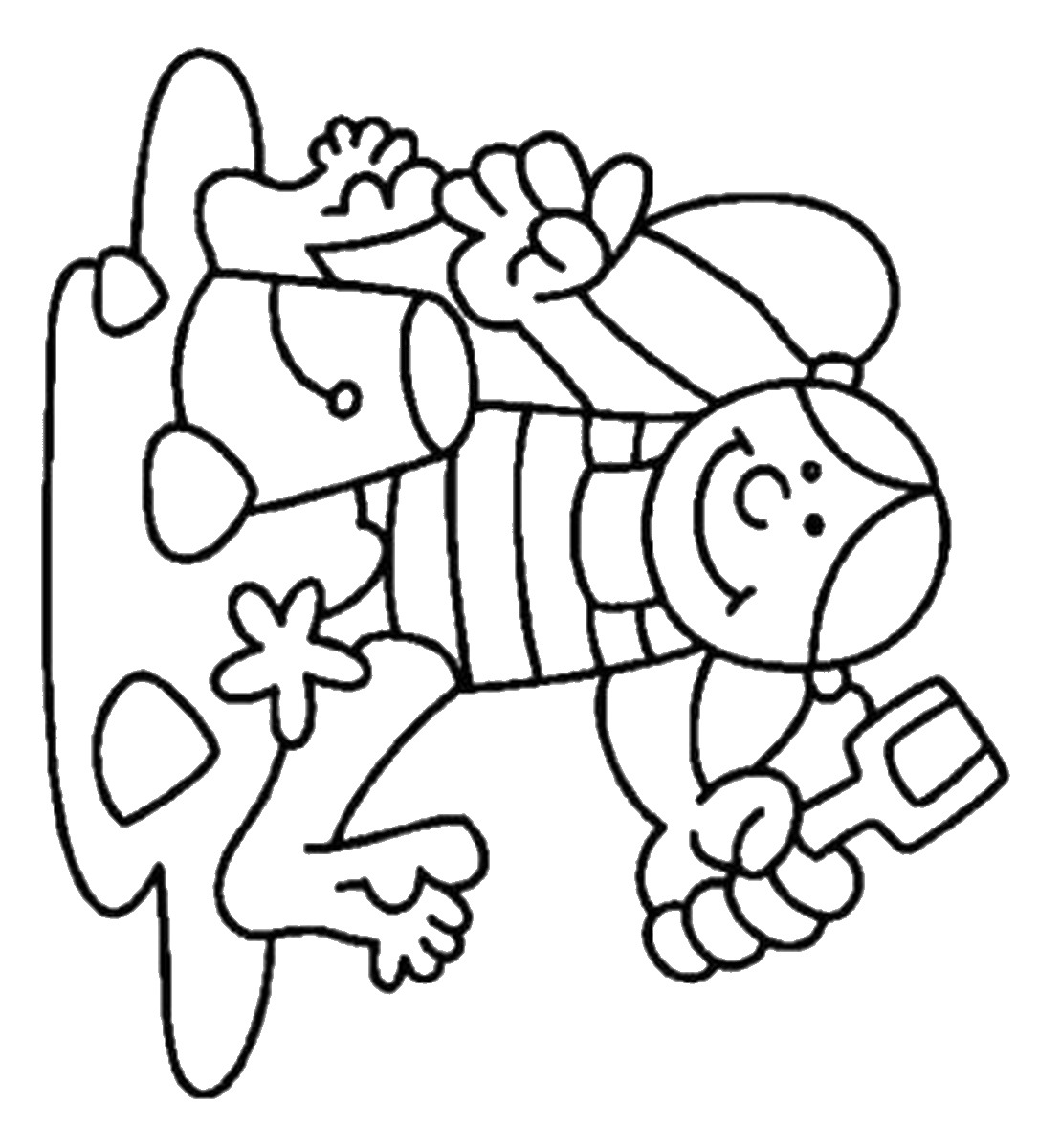 1109x1200 Summer Holiday Coloring Pages