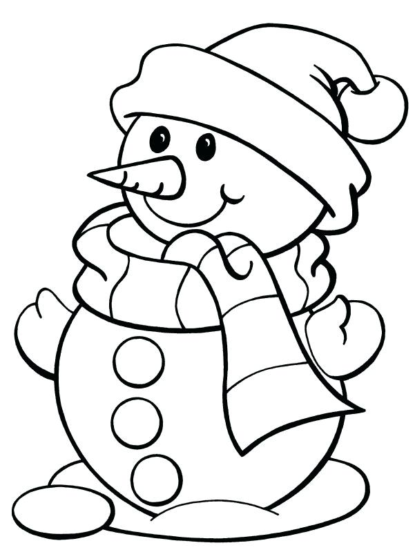 Holiday Coloring Pages | Free download on ClipArtMag